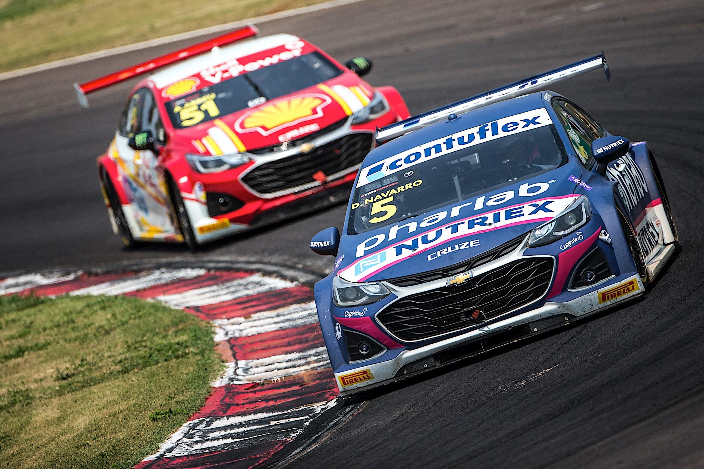 Stock Car: Equipe Cavaleiro fica perto da vitória e encerra fim de semana com duplo Top10