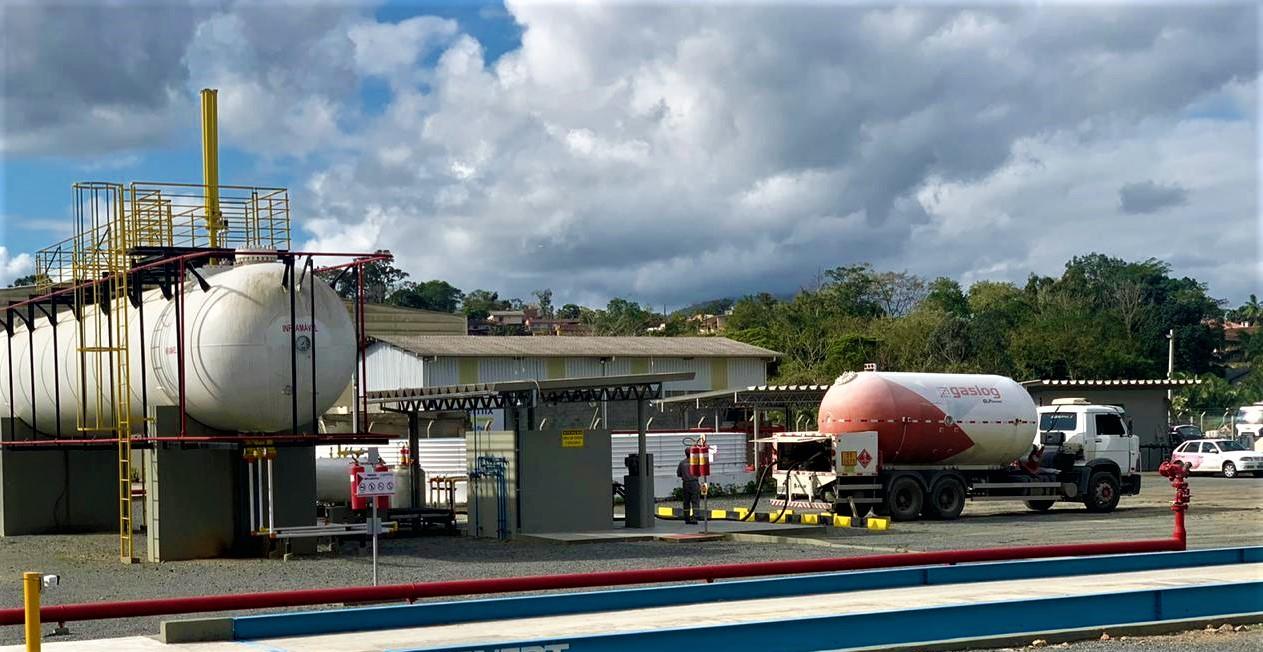 Nova base de distribuição de GLP em Santa Catarina irá ampliar a distribuição de gás em 35% na região