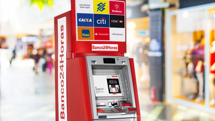 Município de Garuva terá caixa eletrônico do Banco24Horas