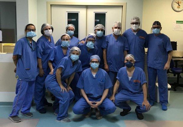 Hospital Infantil Joana de Gusmão realizou três cirurgias inéditas neste final de semana