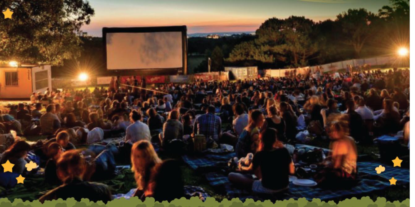 Cinema ao ar livre gratuito  no feriado de 12 outubro