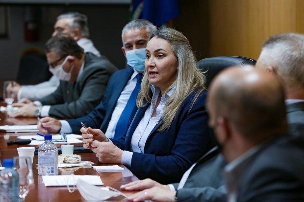 Governadora garante prioridade às obras estruturantes de Joinville
