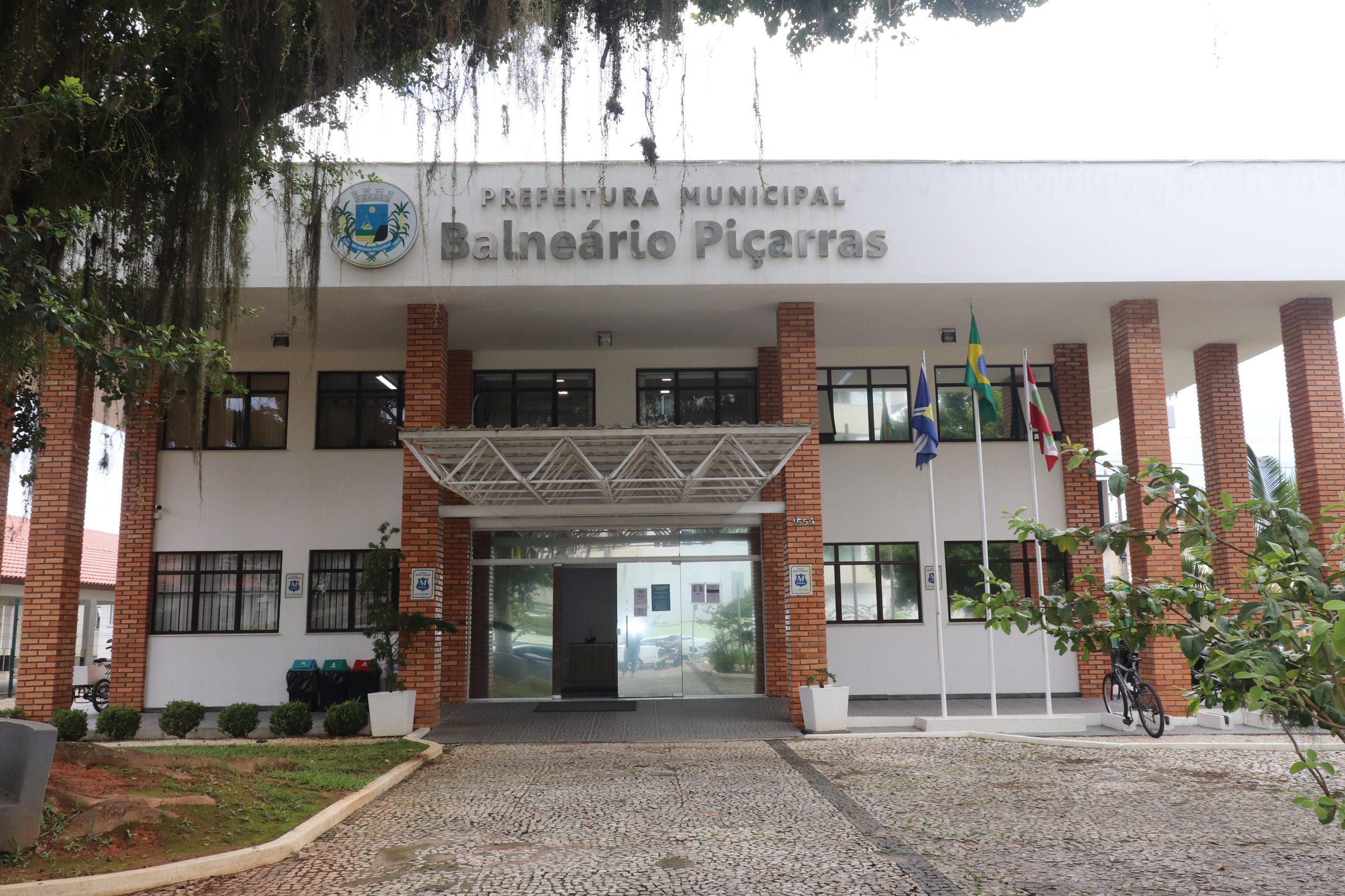 Prefeitura de Balneário Piçarras permanecerá aberta em horário de almoço