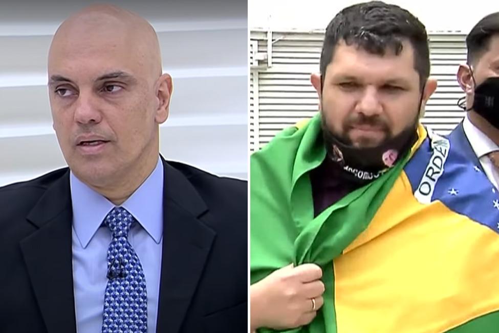 Moraes concede prisão domiciliar ao jornalista Oswaldo Eustáquio