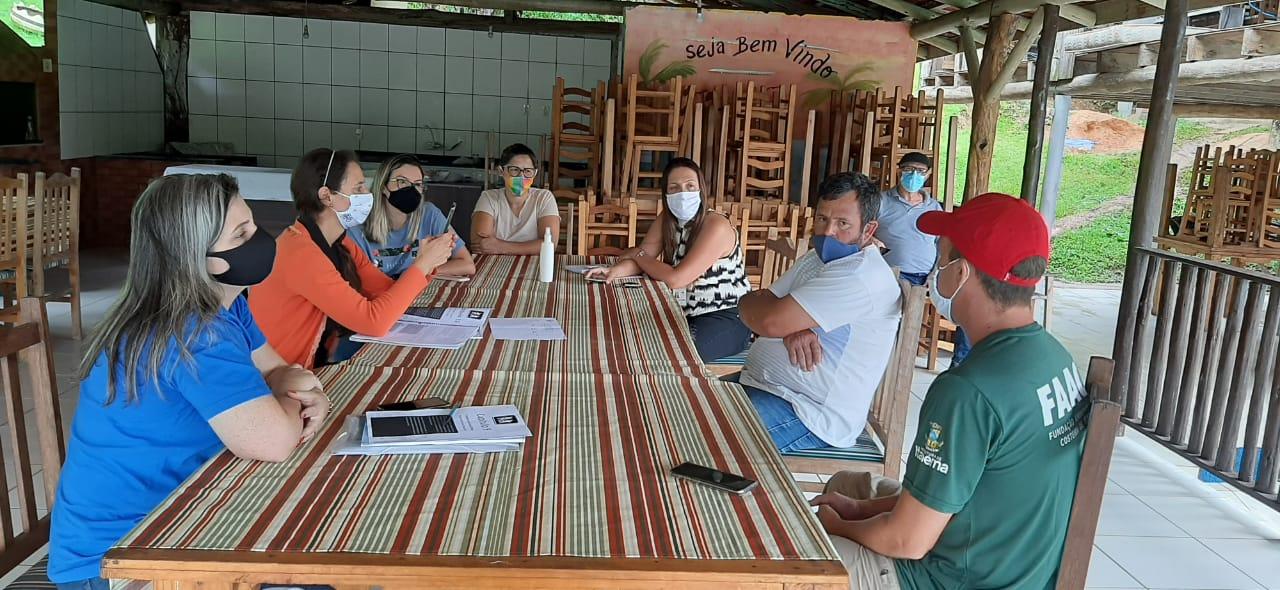 Reunião define planejamento anual das ações do Ecoturismo em Itapema