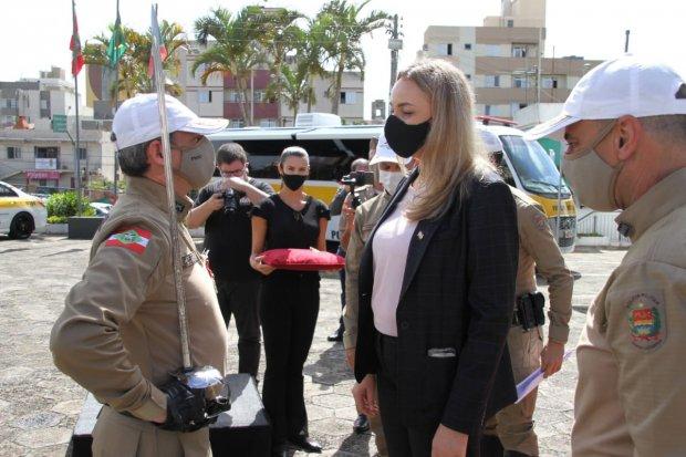 Polícia Militar Rodoviária realiza solenidade de troca de comando em Santa Catarina