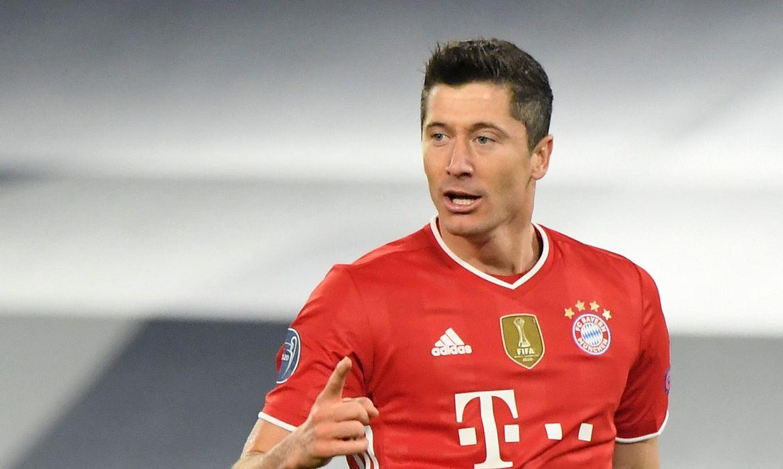 Lewandowski atinge marca histórica em goleada do Bayern sobre Lazio