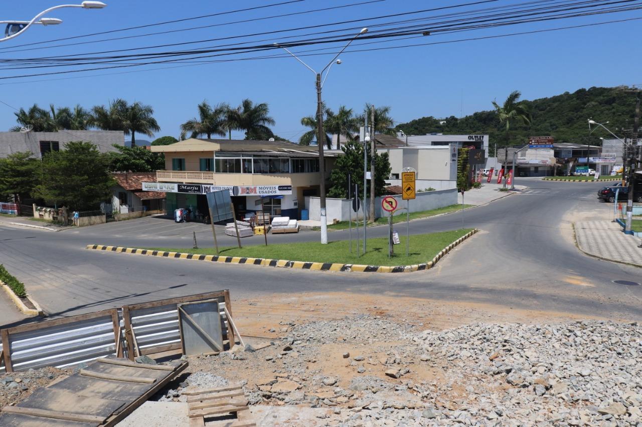 Acessos da Ponte do Rio Piçarras terão alteração de trânsito a partir desta quarta