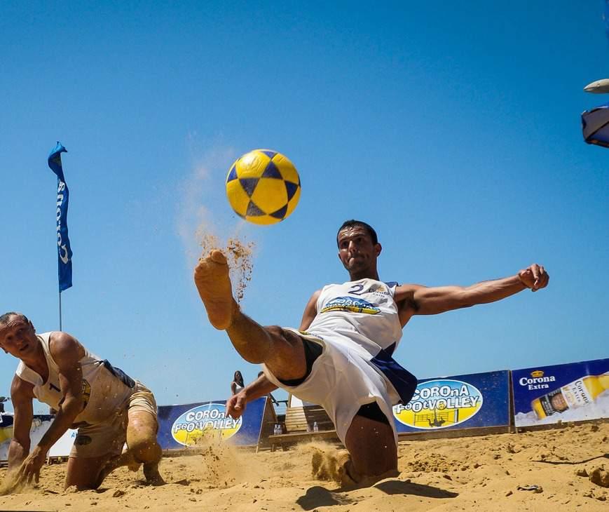 Balneário Camboriú será sede de maior evento de FootVolley do Brasil