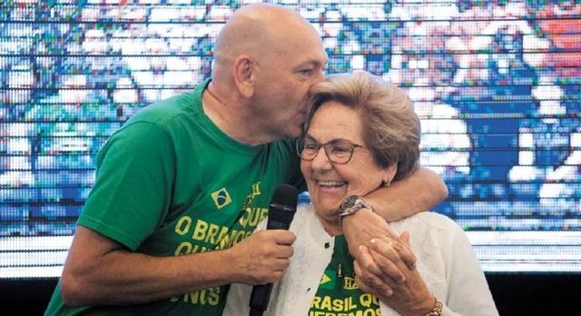 É com profunda tristeza que a Havan comunica o falecimento de Regina Modesti Hang, 82 anos, mãe de Luciano Hang