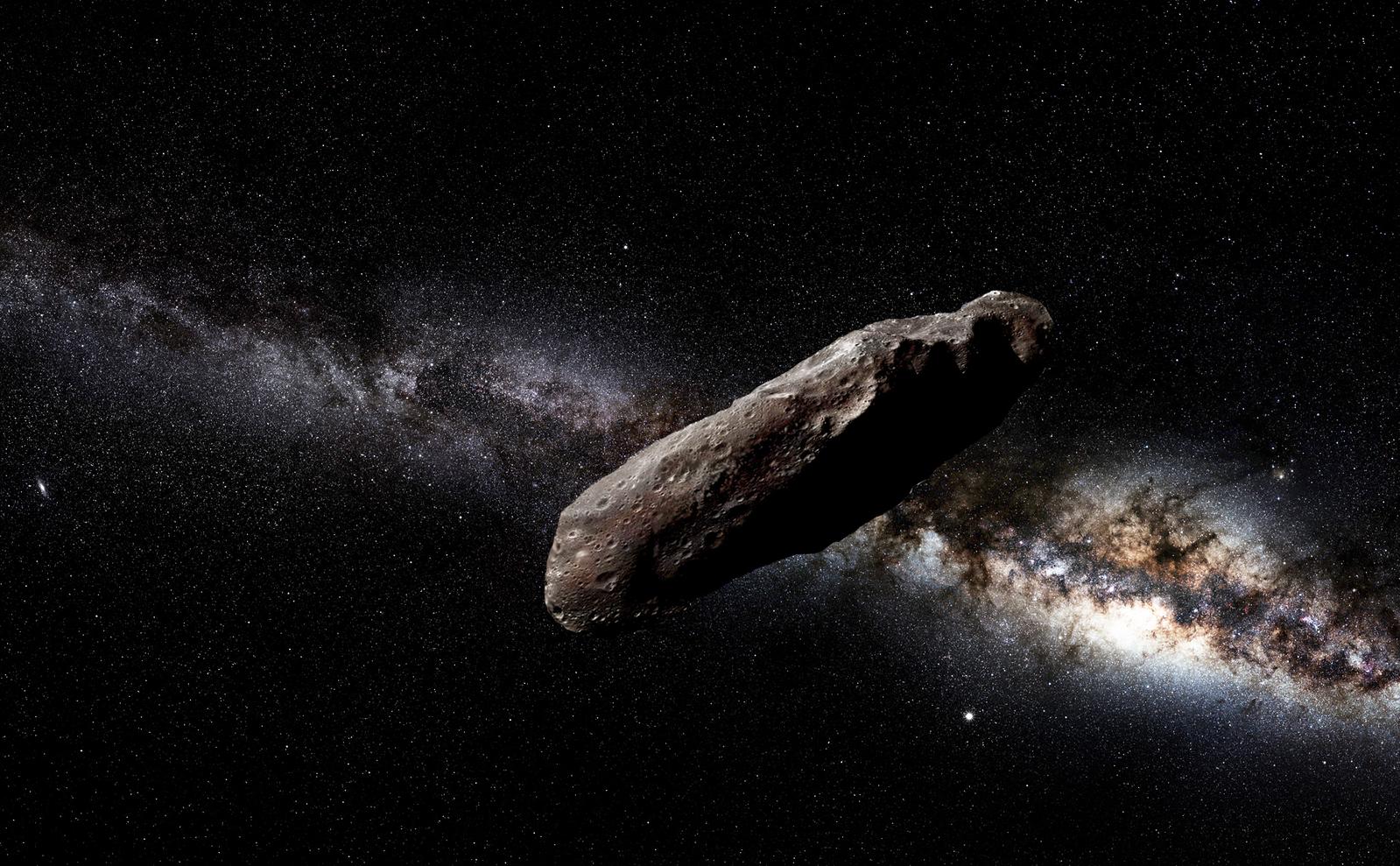 Oumuamua:  pode ser uma nave alienígena?