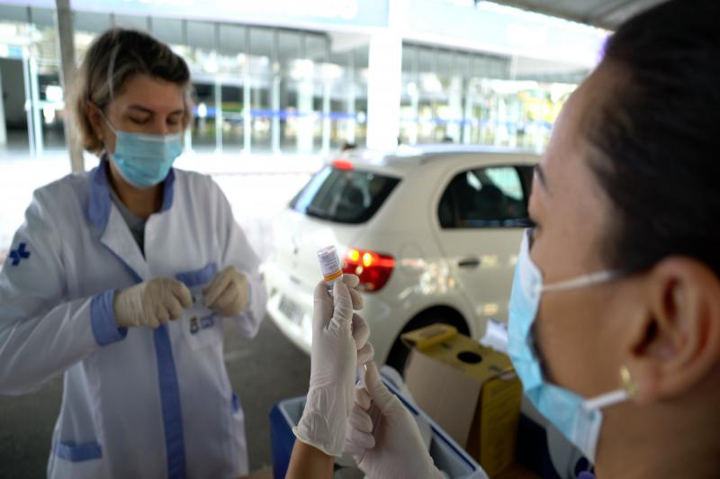 Centreventos estará  com sala de vacinação fechada na sexta-feira à tarde