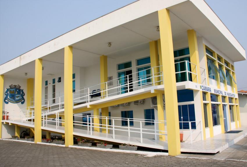 Câmara de Navegantes suspende todas as atividades por sete dias