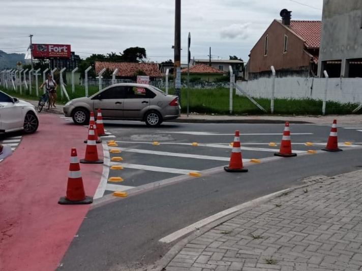 Mudança no sentido das vias do Binário do Aeroporto em Navegantes foi positiva