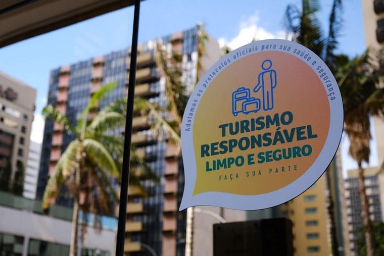 "Brasil atinge marca de 27 mil selos ""Turismo Responsável"", limpo e seguro"
