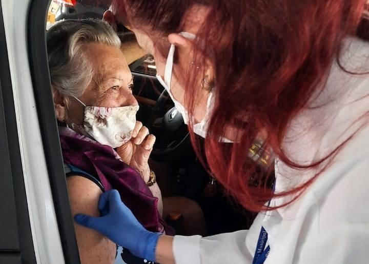 Itajaí ultrapassa 6 mil pessoas vacinadas contra Covid-19