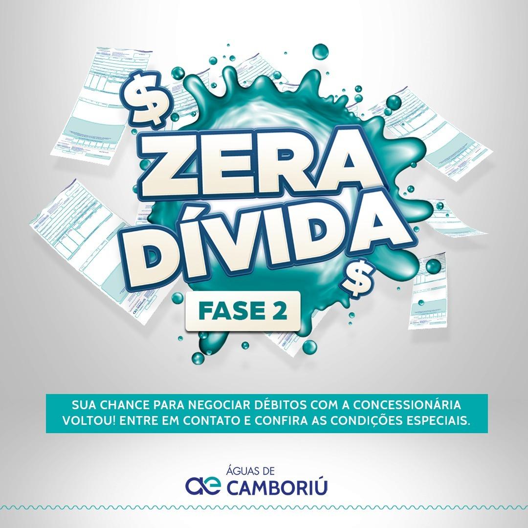 Águas de Camboriú retoma Campanha Zera Dívida com descontos de até 70%