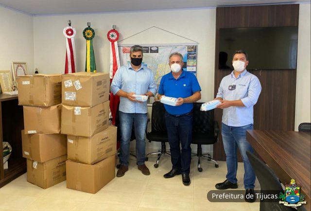Portobello doa 20 mil máscaras cirúrgicas para Tijucas