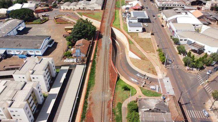 Ferrovias: Governo conclui conjunto de obras em Rolândia/PR