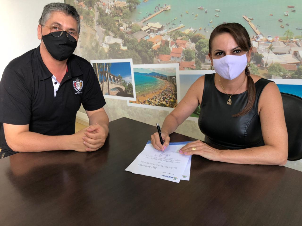 Prefeita Nilza Simas nomeia Major Rodrigues para Secretaria de Segurança Pública