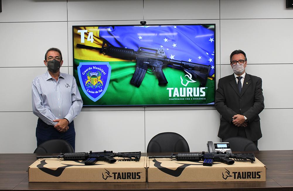 Guarda Municipal de Caxias do Sul adquire fuzis Taurus T4 e é a primeira no Brasil a ter este armamento