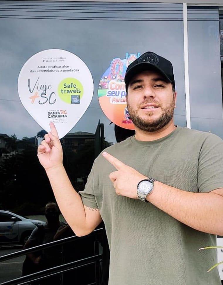 Viaje+Seguro SC: Barra Velha pratica as normas de higiene e segurança sanitária para receber você TURISTA