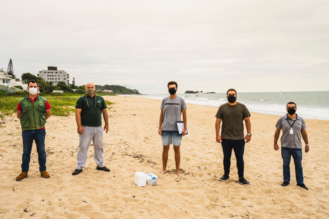Praia do Cerro recebe rigoroso teste de balneabilidade da Univali