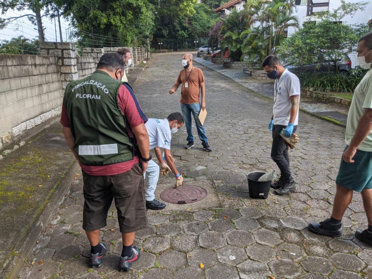 Estamos de OLHO: Força-tarefa notifica dezenas de proprietários por esgoto irregular em José Mendes