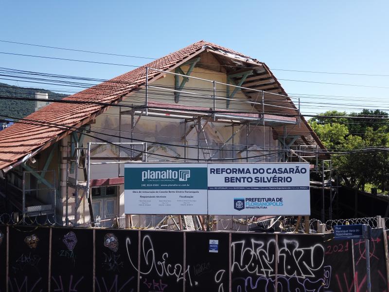 Infraestrutura: concluída etapa da reforma do Casarão Bento Silvério