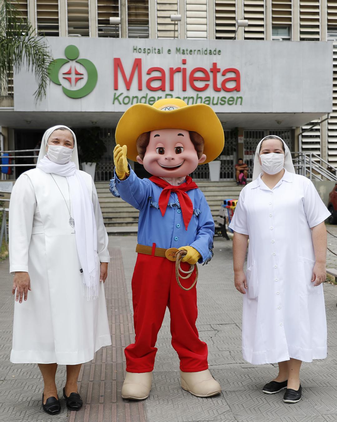 Beto Carrero World doa respiradores