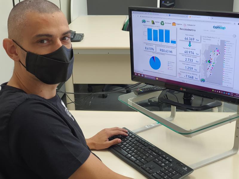 RESIDUÔMETRO: Meio Ambiente disponibiliza informações em tempo real