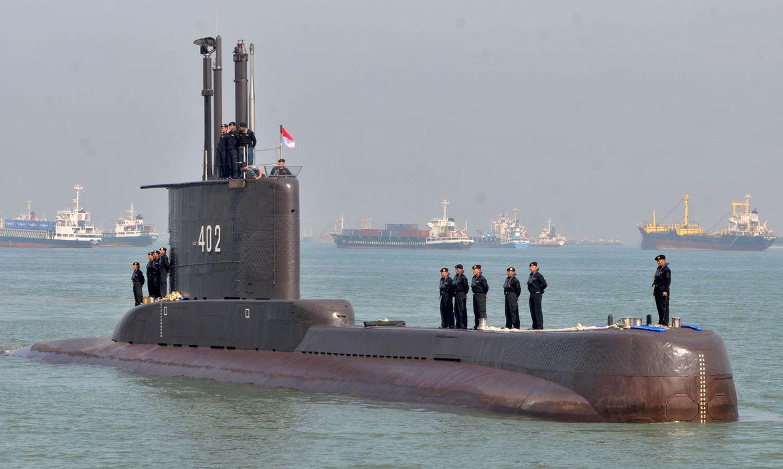 Mar de Bali: Submarino indonésio que estava desaparecido é encontrado aos pedaços