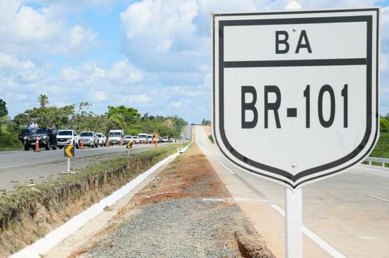 Infraestrutura: Mais 22 km da BR-101 são duplicados
