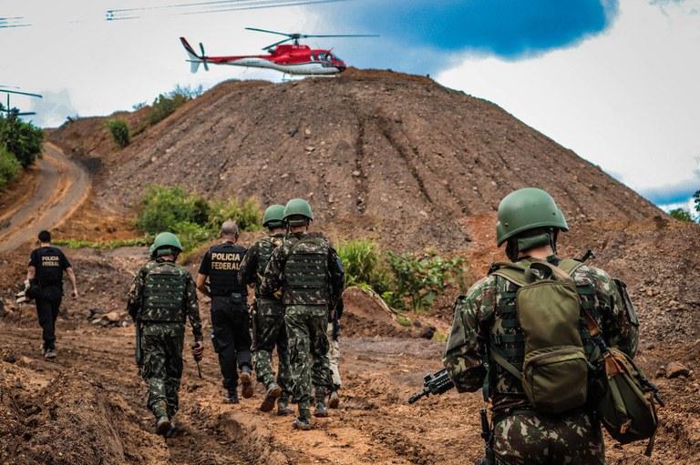 Operação Magnésium: Combate à atividade ilegal de mineração no Pará