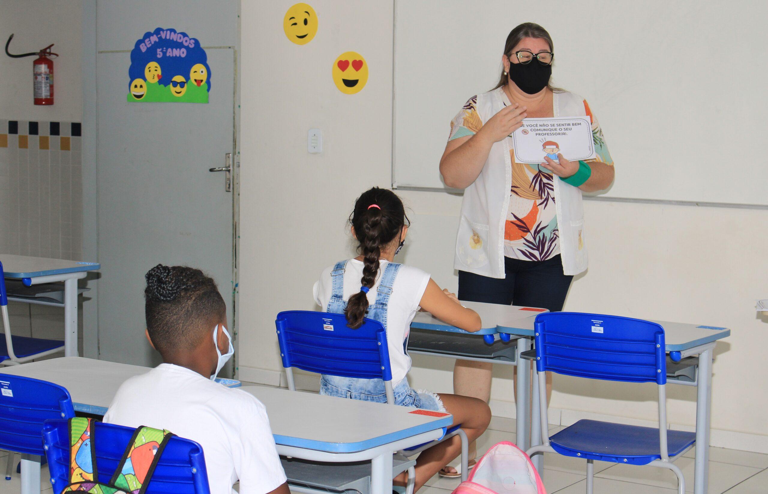Itajaí Volta às Aulas: segunda-feira Estudantes da Rede Municipal de Ensino voltam às aulas após recesso escolar
