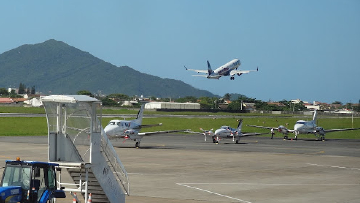 Aeroportos de Navegantes e Joinville: serão leiloados pelo Ministério da Infraestrutura por meio da ANAC