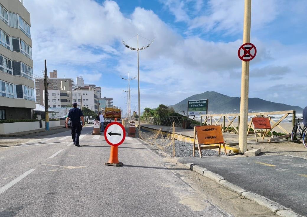 Atenção Navegantes:  Navetran pede atenção aos motoristas na Avenida Beira-Mar, no Gravatá