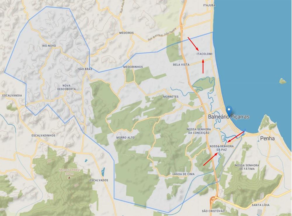 Mapeada áreas de Risco em Balneário Piçarras: Geólogos apresentam à Defesa Civil relatório