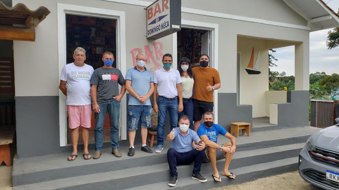 Bar Domingos Néca: nesta semana comemorou o CENTENÁRIO de sua fundação, autoridades prestigiaram o local