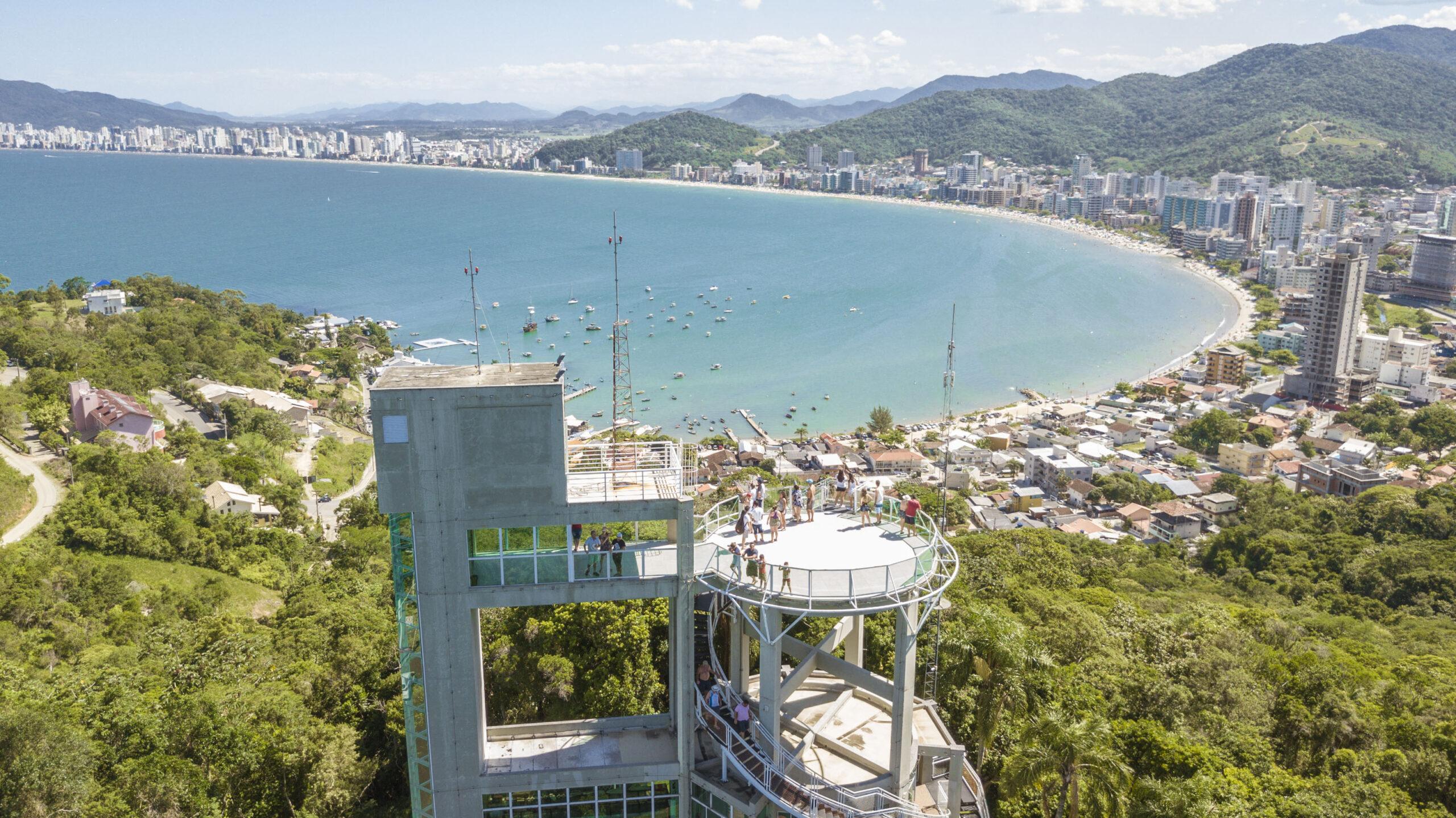 Atrativo Turístico: Mirante do Encanto completa nove anos de fundação em Itapema