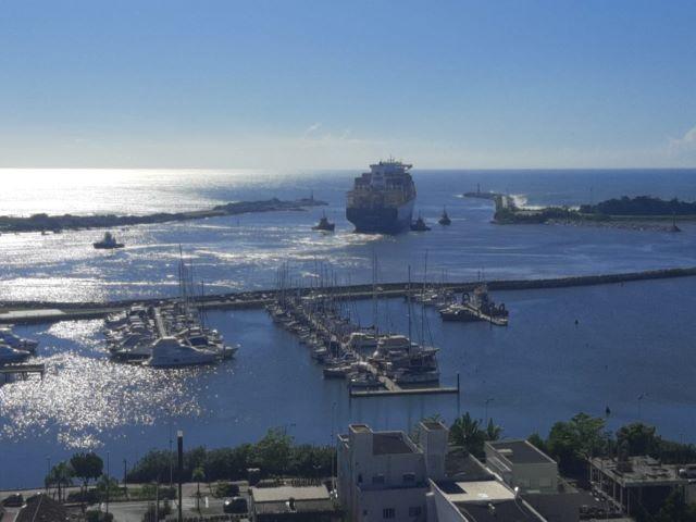 Porto de Itajaí:  Instalada primeira Estação Meteorológica Automática da Epagri em Santa Catarina