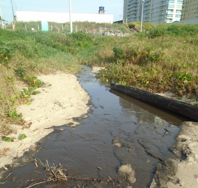 Saneamento Básico: IMP embarga obra de prédio por descumprimento da legislação ambiental em Balneário Piçarras