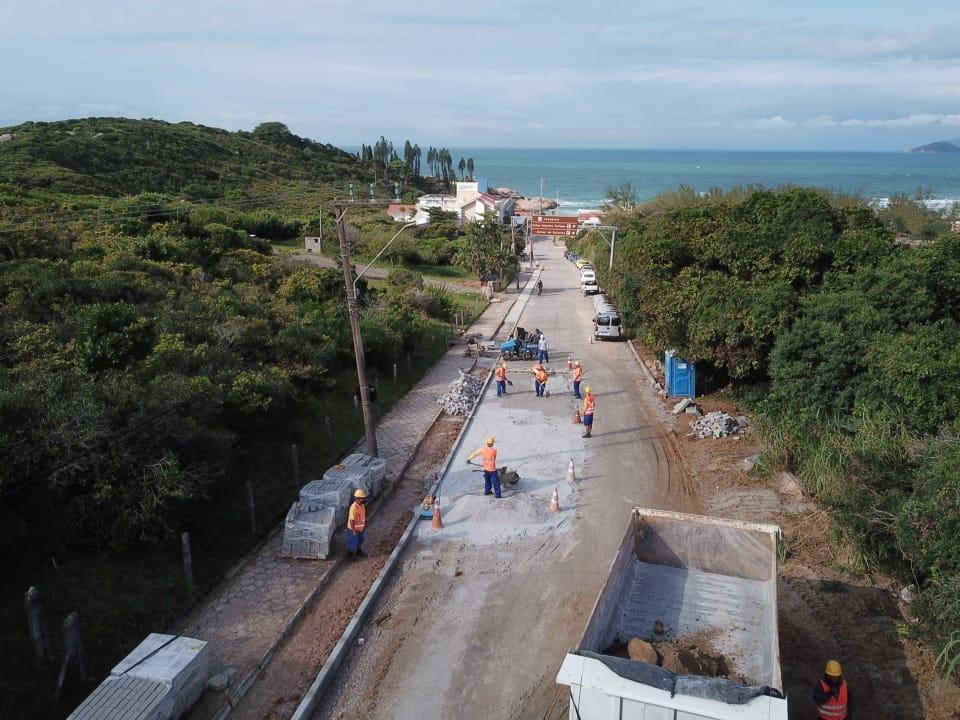 Obras em Floripa: trânsito flui nas principais vias da Lagoa da Conceição e da Joaquina