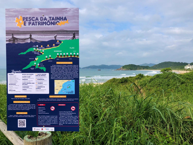 #PescadaTainhaéPatrimônio: Prefeitura de Bombinhas lança a campanha, com o intuito de valorizar a Pesca Artesanal da Tainha