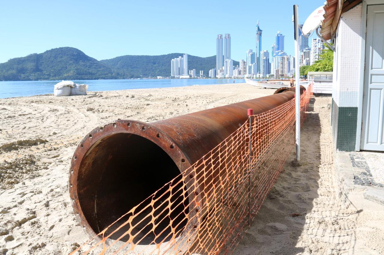 Balneário Camboriú: obra alargamento da faixa de areia será aumentada