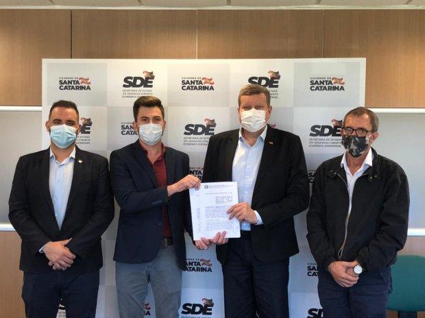 Sine em Luiz Alves:  Assinado Acordo de Cooperação Técnica para Central de Atendimento