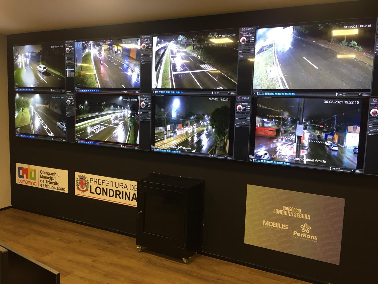 """Tecnologia para """"Cidades Inteligentes"""": Londrina terá novo Complexo de Fiscalização e Monitoramento Eletrônico de Trânsito"""