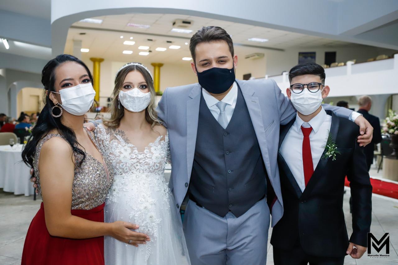 """""""Política Itajaiense"""": Casamento do vereador Osmar cumpre exemplarmente regras da Covid-19, mesmo assim sofreu retaliação"""