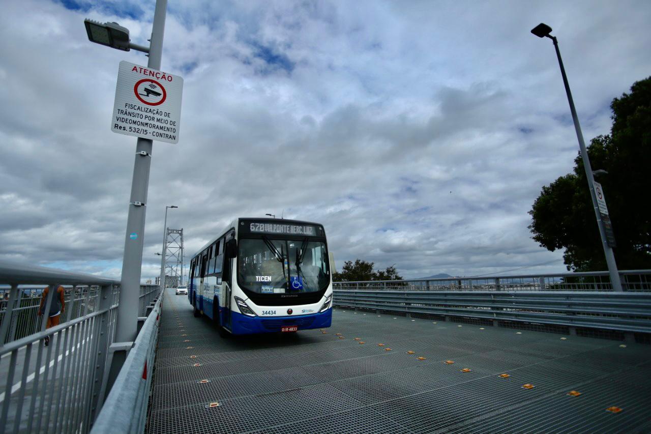 Floripa no Ponto: Prefeitura de Florianópolis inclui 154 horários de linhas extras programadas de transporte coletivo