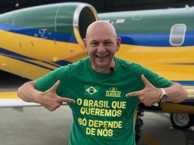 Jurisdição de Navegantes: Lula evita ficar cara a cara com Luciano Hang